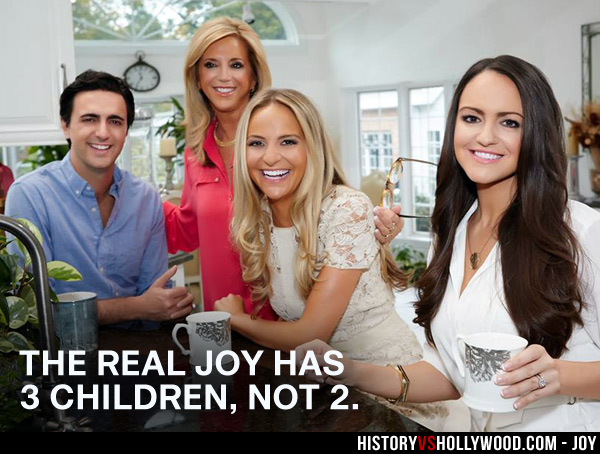 Joy Mangano with Children