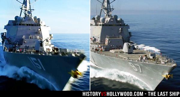 USS Nathan James and USS Halsey