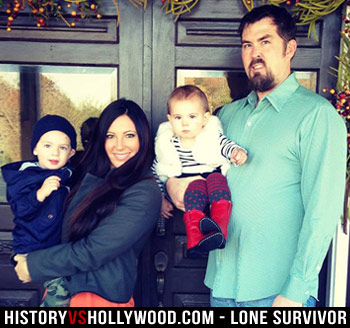 Marcus Luttrell Family