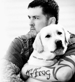 Marcus Luttrell and Rigby