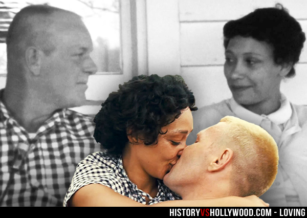 Richard and Mildred Loving Kiss