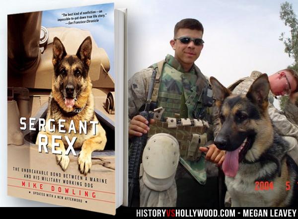 Megan Leavey Movie vs True Story of Sergeant Rex Military Dog