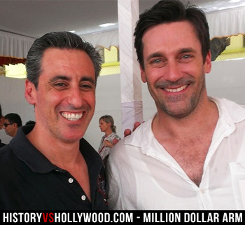 J.B. Bernstein and Jon Hamm