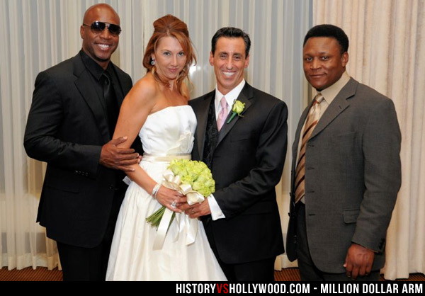 Barry Bonds, Brenda, J.B. Bernstein, Barry Sanders