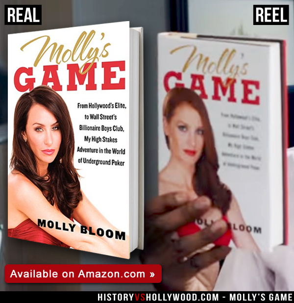 Molly's Game vs  The True Story of Molly Bloom
