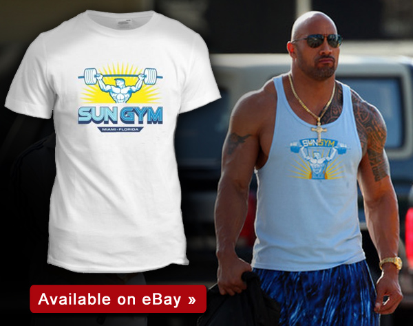 Pain and Gain Sun Gym T-Shirt
