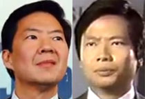 Ken Jeong and Tom Vu