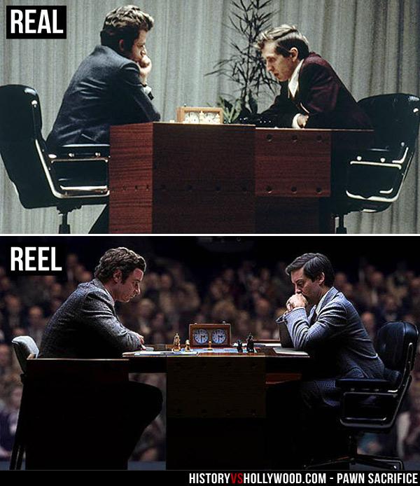 pawn sacrifice vs true story of bobby fischer and boris