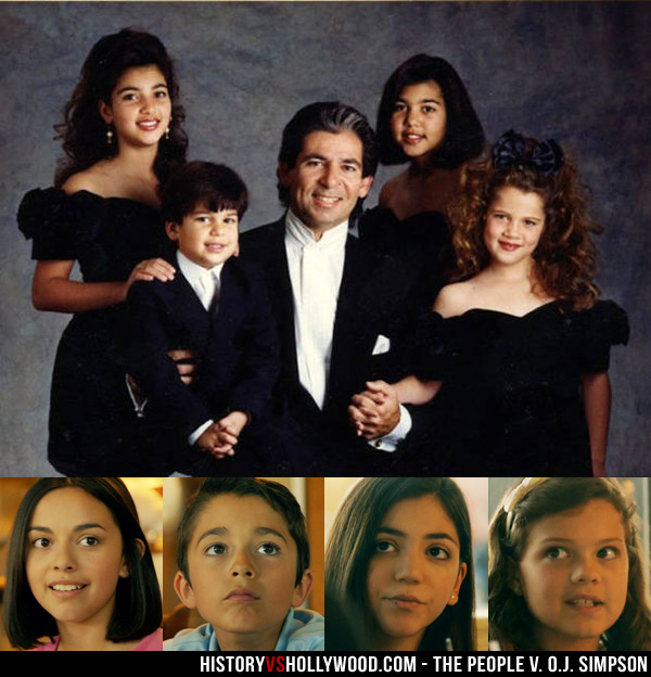 Kardashian Kids in People v. O.J. Simpson
