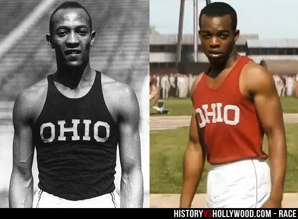 Race Movie vs True Story of Jesse Owens, Fact-Checking Race