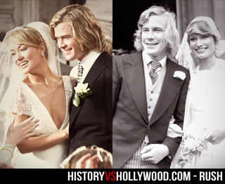 James Hunt Wedding