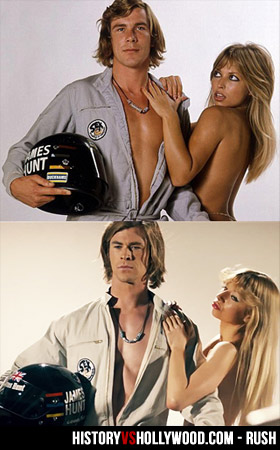 James Hunt and Susan Shaw top