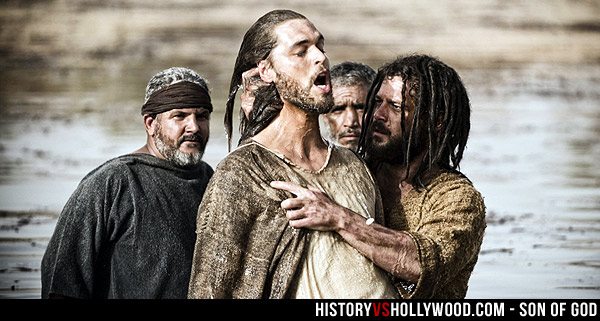 Jesus Baptism Son of God Movie