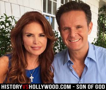 Son of God producers Roma Downey and Mark Burnett