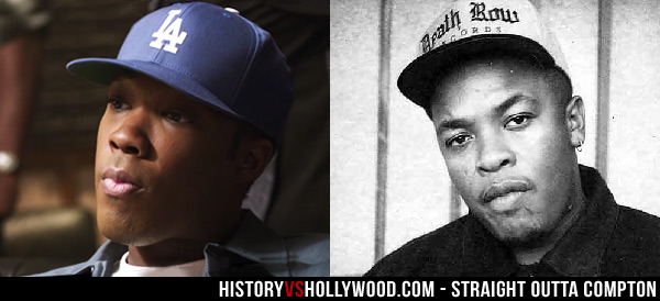 Straight Outta Compton N W A Movie vs True Story of N W A