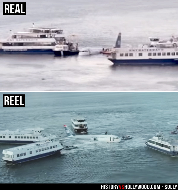 sully movie vs true story of miracle on the hudson flight