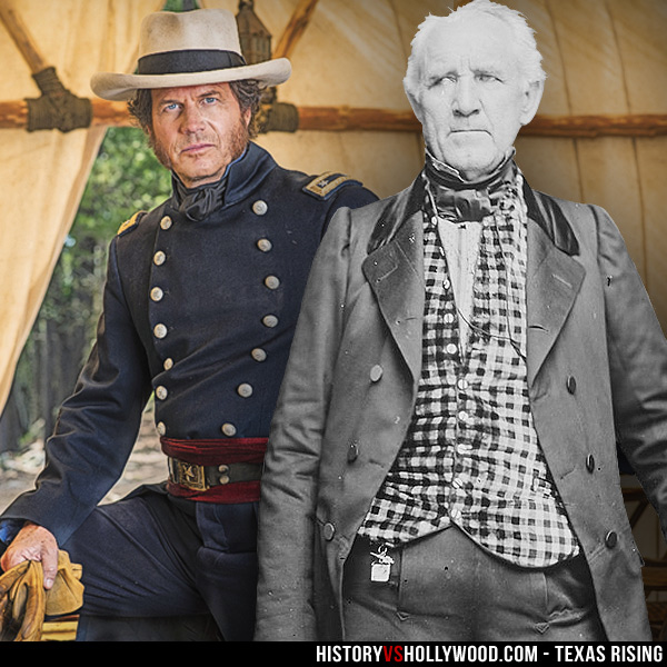 Bill Paxton and Sam Houston