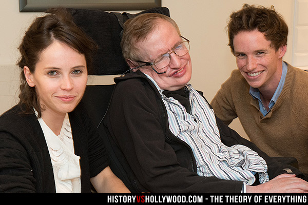 Theory of Everything vs. True Story of Stephen and Jane Hawking