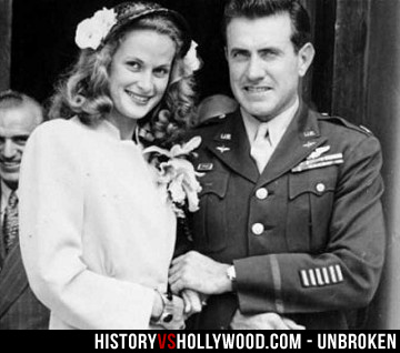 Cynthia and Louis Zamperini