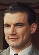 Alex Russell as Pete Zamperini