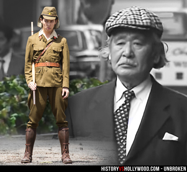 Unbroken Vs True Story Of Louis Zamperini And Mutsuhiro Watanabe