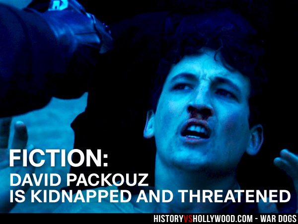 Miles Teller as David Packouz Kidnapped and Tortured