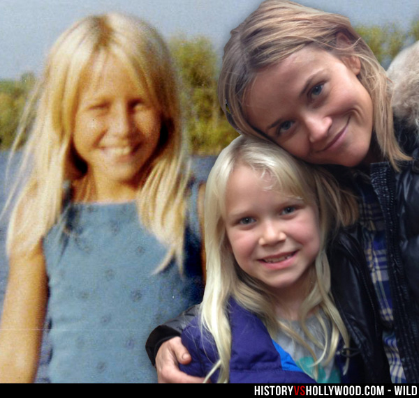 Cheryl Strayed, daughter Bobbi Strayed Lindstrom, and Reese Witherspoon
