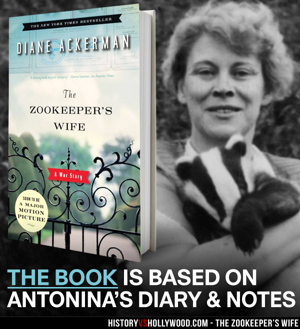 Diane Ackerman Zookeepers Wife Book